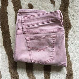 Gap Dusty Rose Skinny Jeans